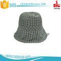 wholesale washed fishing cotton cute kids plastic bucket hat