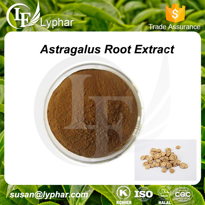 ISO Factory Supply 100% Natural Polysaccharide 50% Astragalus Root Extract