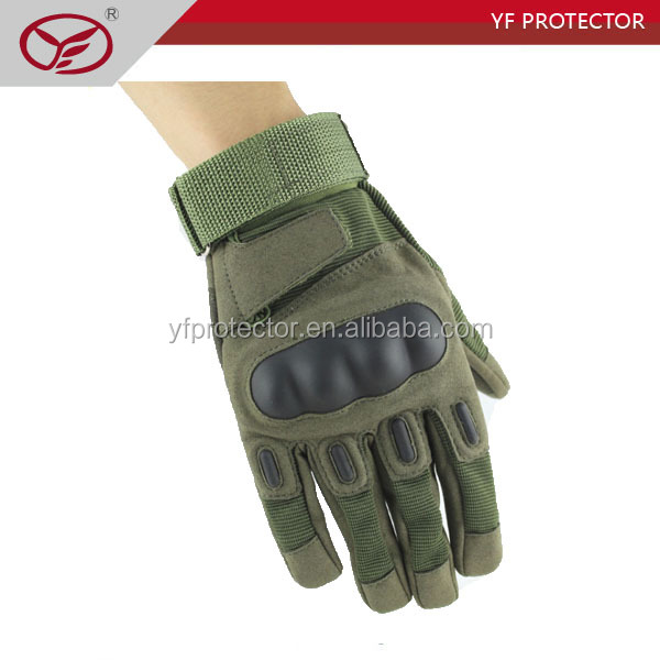 green Full Finger Police Tactical Military outdoor Gloves