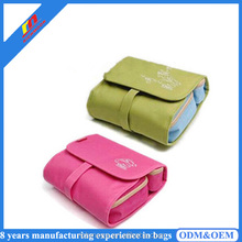 Hot Selling Nylon Travel Cosmetic Bag Organizer