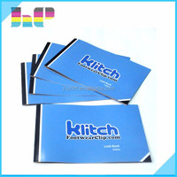Low cost top quality glossy art paper cheap custom printing folder