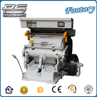 High quality New design Hot Foil Stamping And Creasing Machine