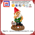 2017 most popular resin garden gnome for decoration