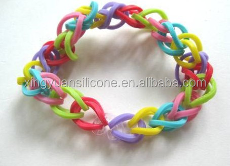 gold rainbow loom bands
