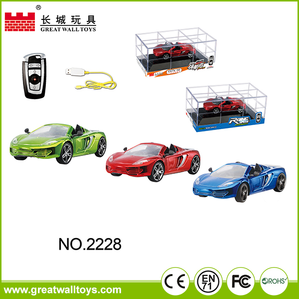 4 channel car plastic propel rc car 1:43 electric