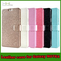 High Quality Wallet Flip PU Leather Case Cover For Samsung Galaxy Note 4