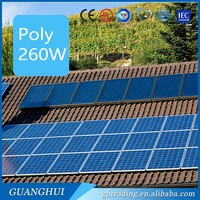 Cost-effective pricing 1KW 2KW 5KW system 300W 250 Watt poly solar panels off grid hybrid solar wind power system