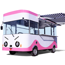 sales food tea milk truck 4x2 small mobile super shop truck