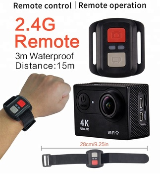 4K H9R 170 HD Wide-angle Lens action wifi action camera
