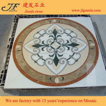 Top Quality Water Jet Marble Designs Classic Pattern Medallion