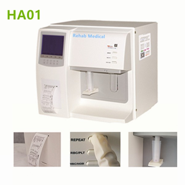 Semi automatic hematology analyzer HA01-2
