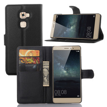 Ultra Slim PU Leather Flip Cover Wallet Case For Huawei Mate S