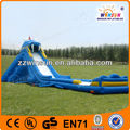 inflatable slide and bouncer combo course series