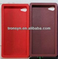Fashionable silicone case for iphone 4 in poker style