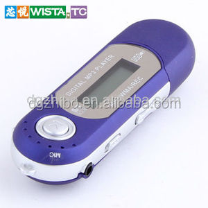 Favorites Compared Metal Mp3 Player With Micro / Tf Slot Mini Clip Mp3