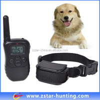 Waterproof Remote Control 300 Meters Hunting Dog Shock Collars Rechargeable