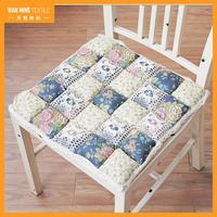 Wholesale Country Style Flower Printed Lace Square Sofa Chair Car Seat Cushion