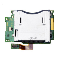 Slot 1 Card Socket with Flex Cable Component Repair Part for Nintendo for New 3DS