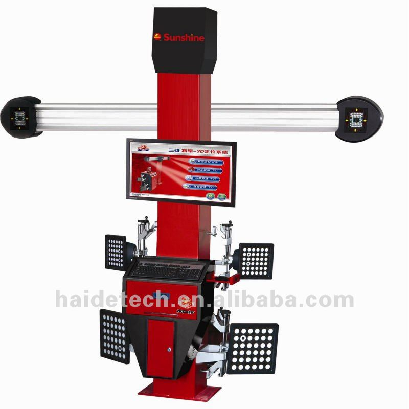 4 wheel alignment machine with CE & ISO Certificate