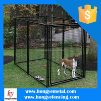 Cheap Large Metal Fence Dog Kennels Runs