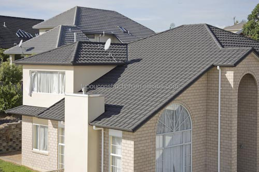 stone coated metal roof tile with 50 years warranty period