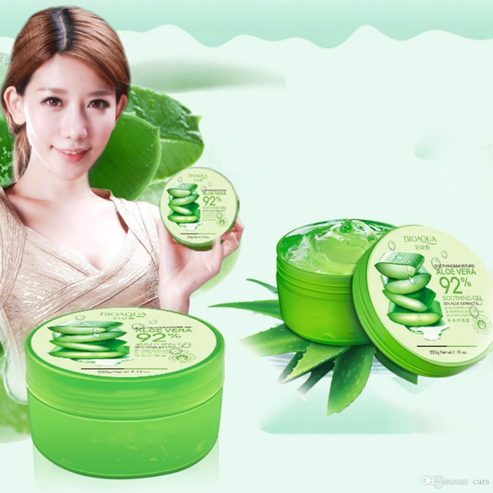 Wholesale Natural Aloe Skin Gel Online Buy Best Aloevera Bioaqua 220g Strongnatural Strong Strongaloe