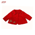 100% polyester girl winter jacket kids girls wool coats clothing