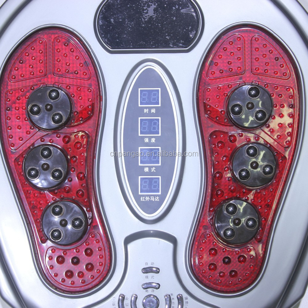 electric pulsed electromagnetic therapy foot care massager