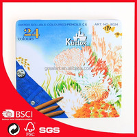 Kuelox 12/24 water soluble pencil golden colored with iron box