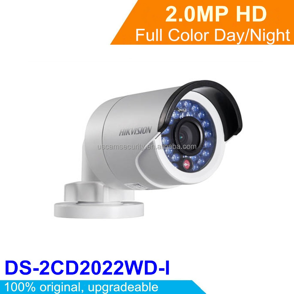 Original Hikvision 2MP WDR Outdoor Hikvision IP Camera POE HD Camera DS-2CD2022WD-I