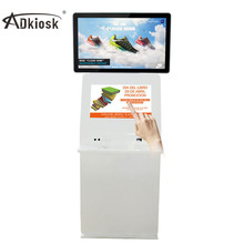 new products 2014! 19inch and 32inch double screens touch screen advertising mobile phone charging kiosk