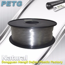 Temperature resistance PETG filament 1.75 3.0 mm natural