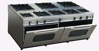 Commercial Gas Cooking Range And Oven