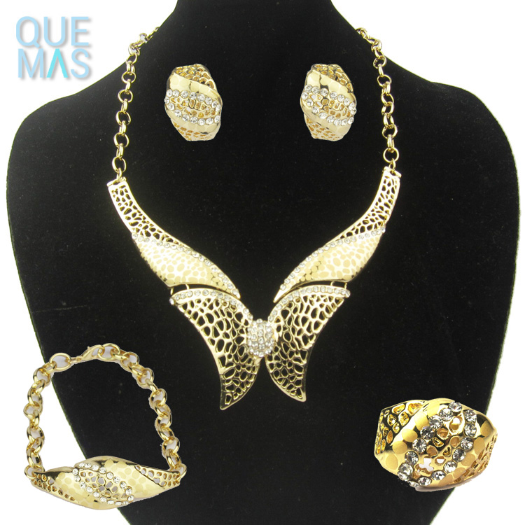 butterfly rani haar designs pakistani artificial bridal jewelry sets
