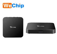 factory price TX3 pro S905X 1gb 8gb Android 6.0 smart TV box quad core set top box