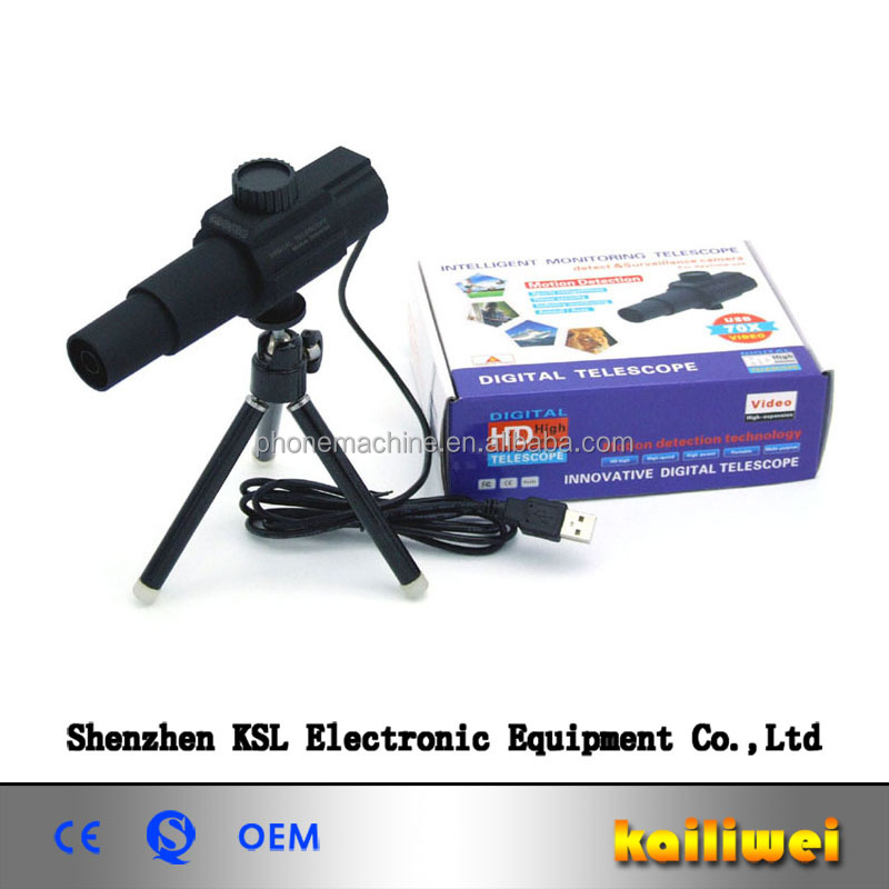 KSL HD Smart Telescopic Monitor System Monocular Digital USB Telescope