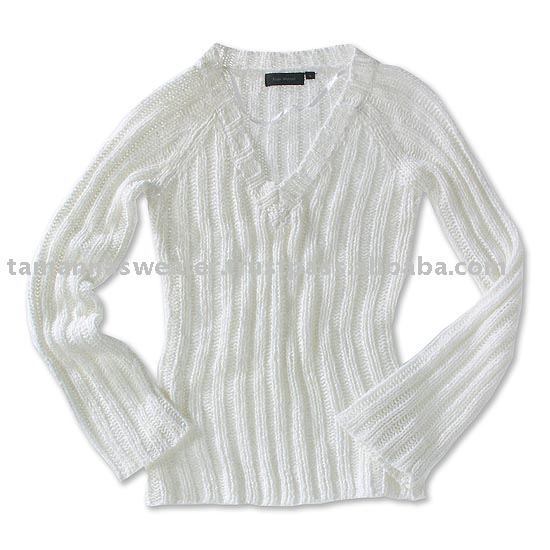 Acrylic Mohair Like Sweater