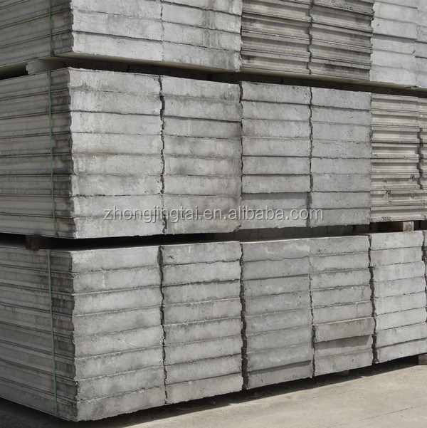 Prefab Lightweight Building Material Concrete EPS Cement Sandwich Wall Panel for Projetcs