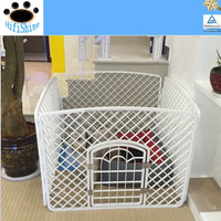 Pet fence dog fence dog cage kennel cages pp green plastic resin material