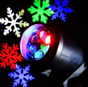 Outdoor Christmas Laser Light Waterproof Xmas Snowflake Projector Lights