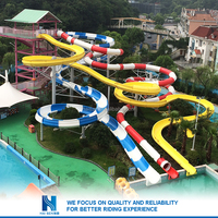 aqua park equipment and water park water slide