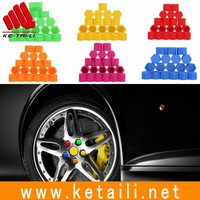 Silicone auto motorcycle car wheel nut cover lug nut caps bolt