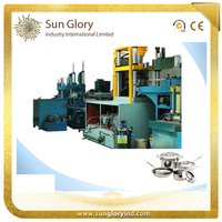 Sunglory A-Z automatic cookware production line pick and place feeder machine