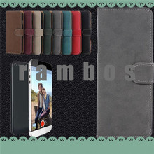 Luxury Vintage Retro Flip Leather Wallet Case Cover Fundas for iphone 3 4 5 5C 6
