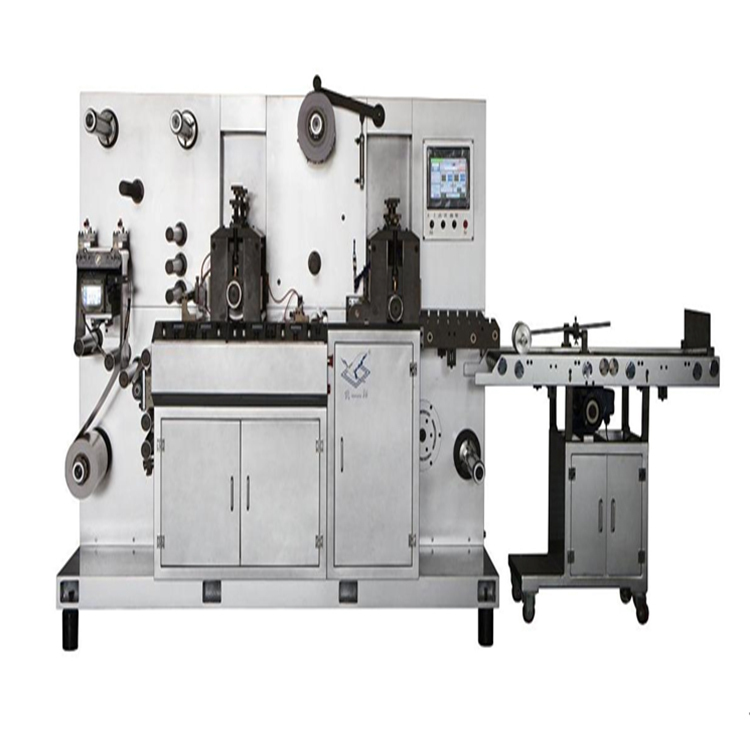 Direct selling JXMQ - 320 Semi - rotary die cutting with slitting machine quality guarantee