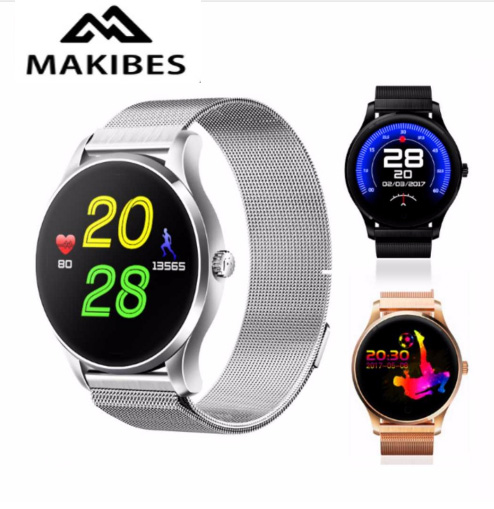 Makibes K88 Smart Bluetooth Watch Heart Rate Monitor Smartwatch MTK2502 Siri Function Gesture Control For iOS/Andriod