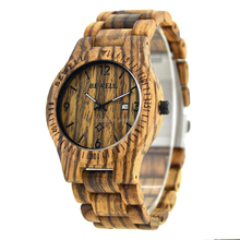 OEM/ODM Design Your Own Wooden Watch Create Your Own Brand waterproof wood watch