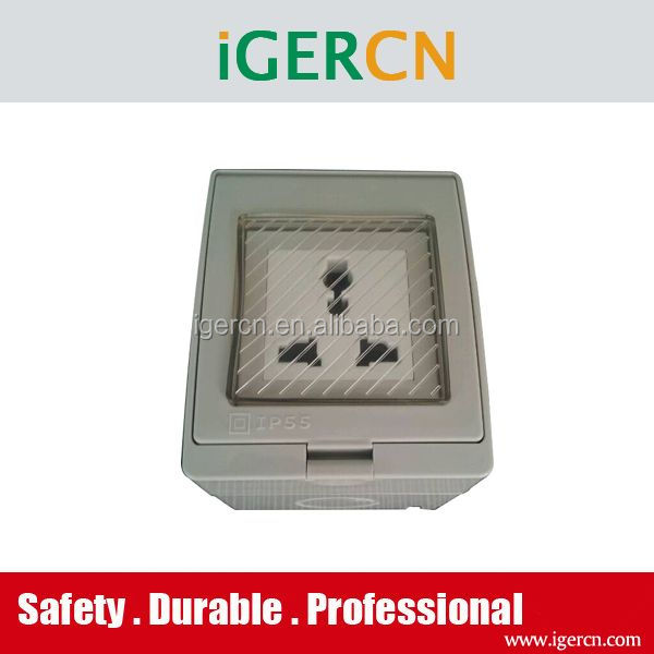 new arrival multi-function style Weather protected wall switch and socket(IP55)