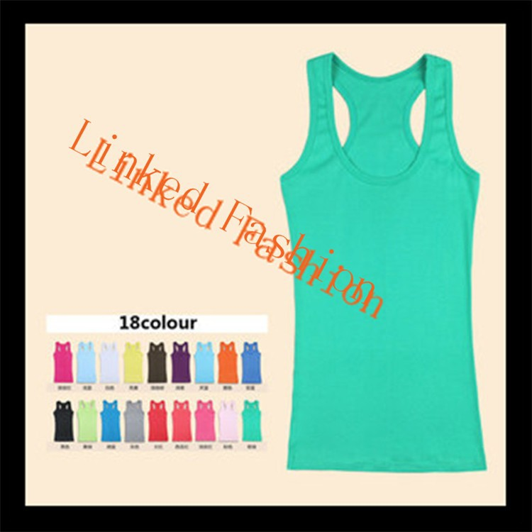 fashionable candy cotton ladies tank top sexy tube top