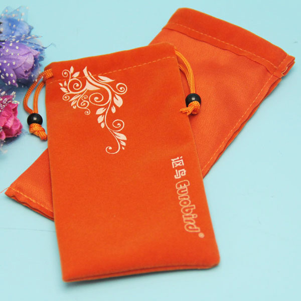 Fancy Soft Velvet Cell Mobile Phone Pouch